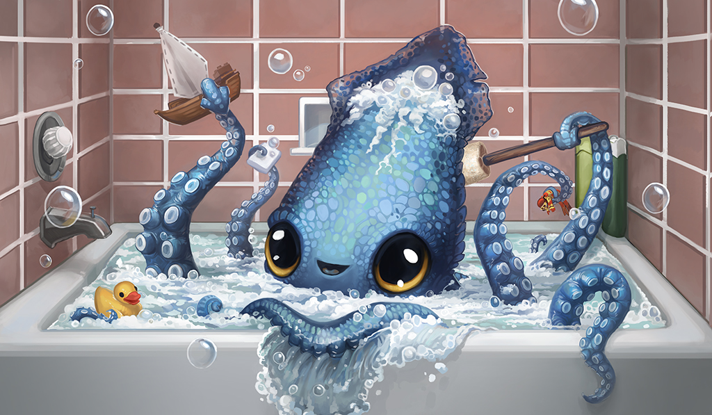 Creature Collection: Kraken by ALRadeck