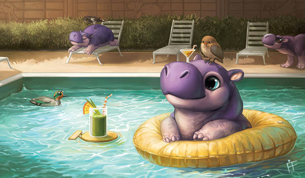 Creature Collection: Hippo
