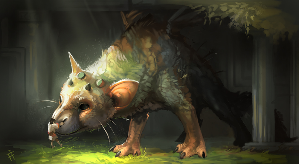Sunlight Does Some Amazing Things This >> Trico, The Last Guardian by ALRadeck on DeviantArt