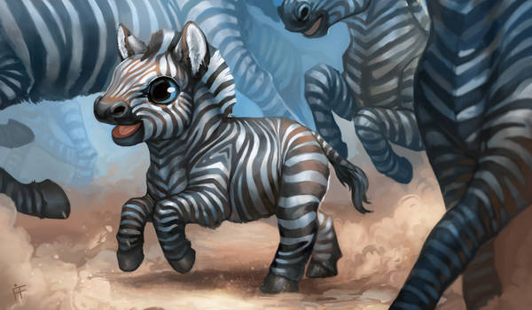 Creature Collection: Zebra