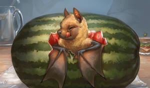 Creature Collection : Fruit Bat by ALRadeck