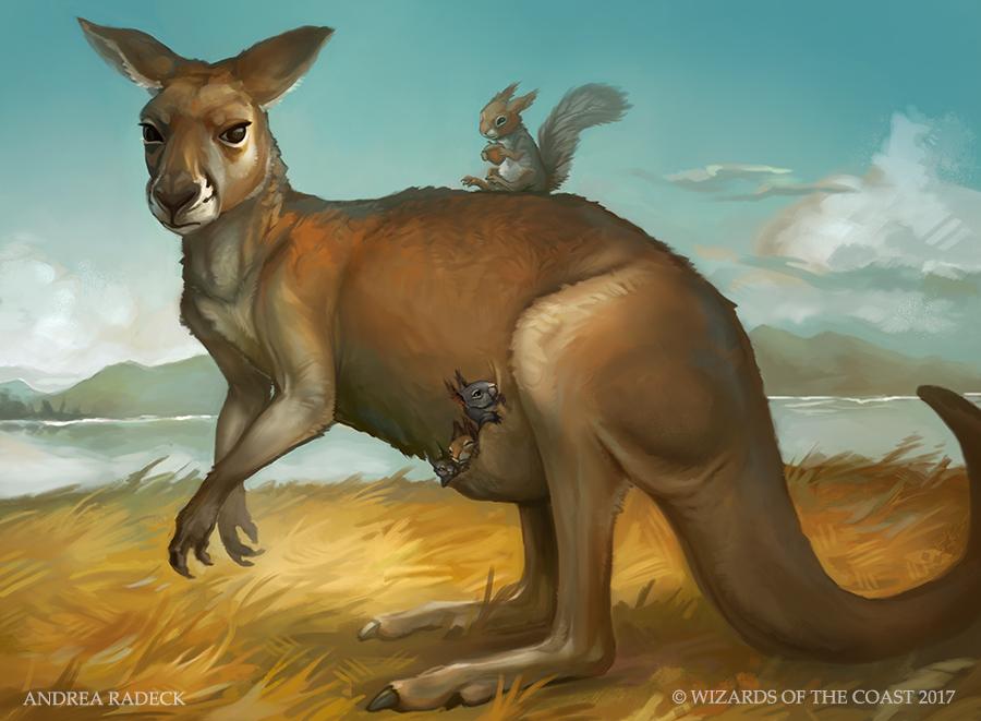 MTG Unstable: Mother Kangaroo by ALRadeck