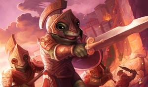 Acroakin' Crusader