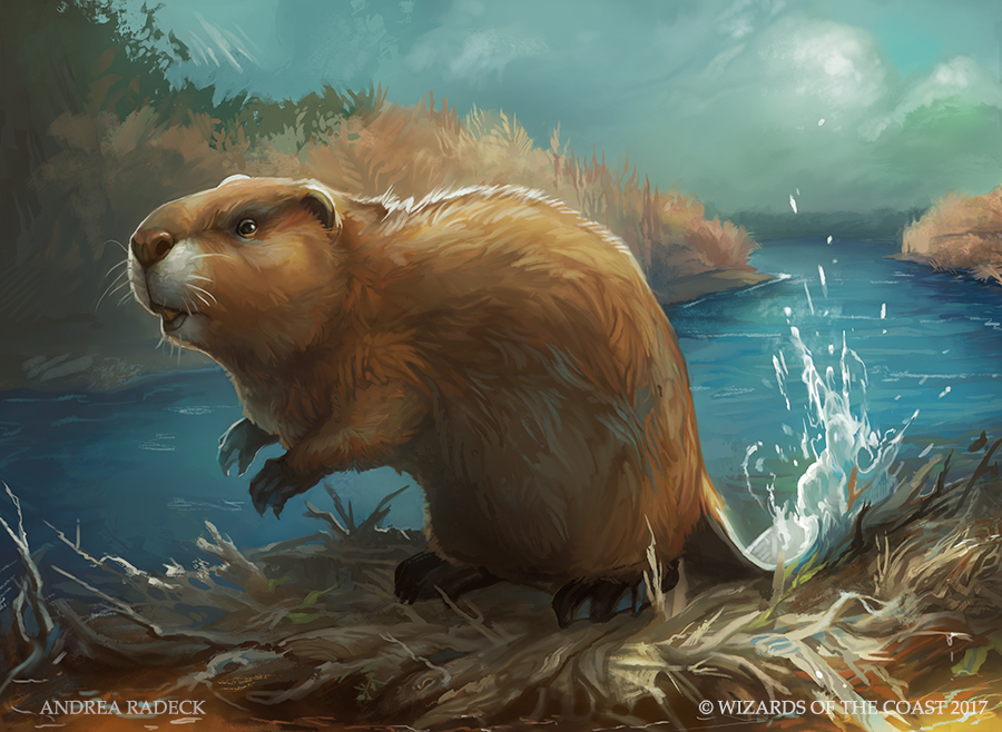 MTG Unstable: Eager Beaver by ALRadeck