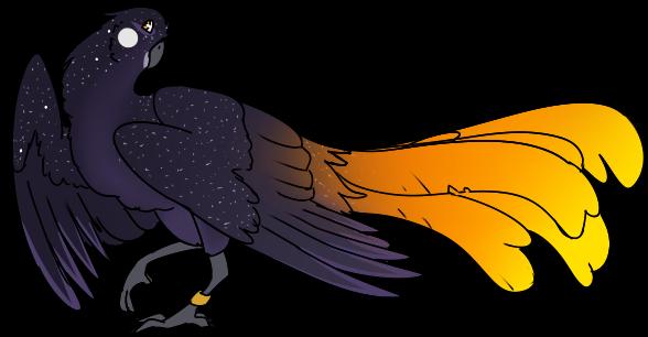 Daz The Space Bird by raumkind