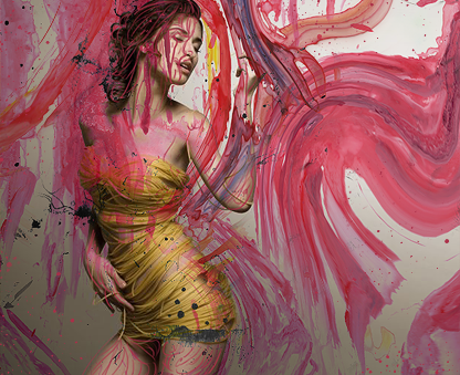 Painted Girl by FacMiArder