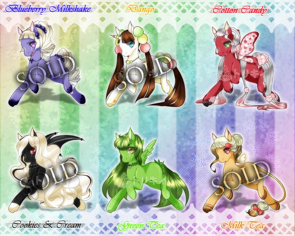 Dessert Pony Adoptables [OPEN] [2/6] by Torikii