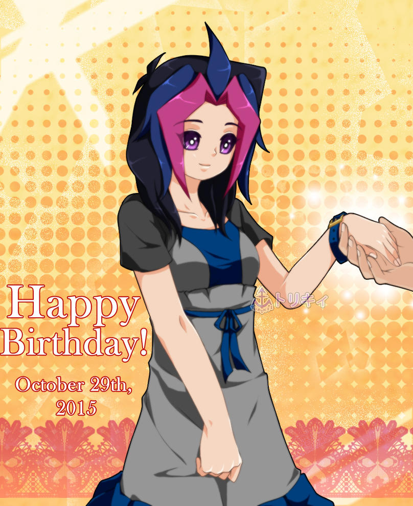 Happy Birthday Anita-chan!!! by Torikii