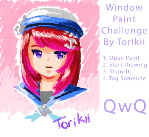Window Paint Challenge by Torikii