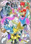 Digimon: The Hardcore Ladies by Torikii
