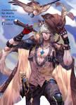Commission 105: Pirate SilverAsh