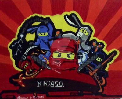 Ninjago by Tenshigrazie