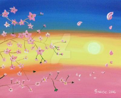 Hinode Sakura by Tenshigrazie