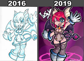 Lucy 2016-2019 comparison