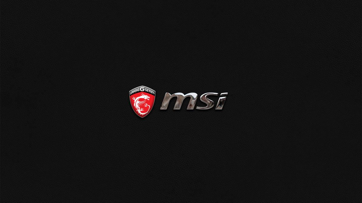 Msi wallpaper by stickcorporation on deviantart - Msi logo wallpaper ...