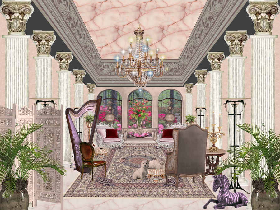Interior design grand salon by jbjdesigns on deviantart for Grand salon design