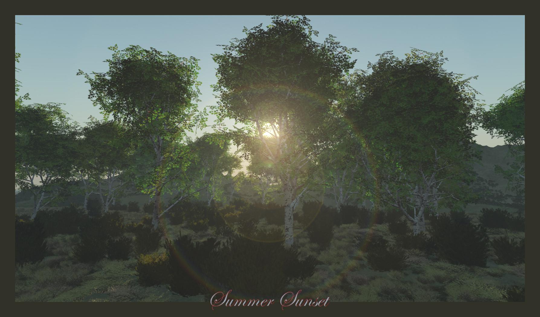 Summer Sunet by jbjdesigns