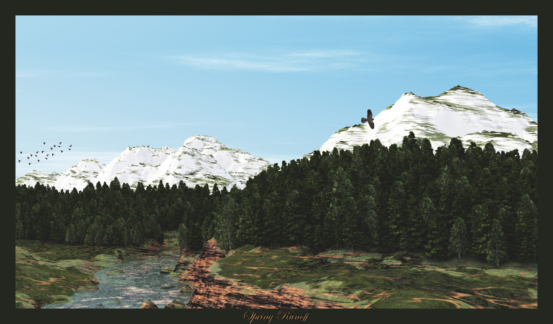 Spring Runnoff by jbjdesigns