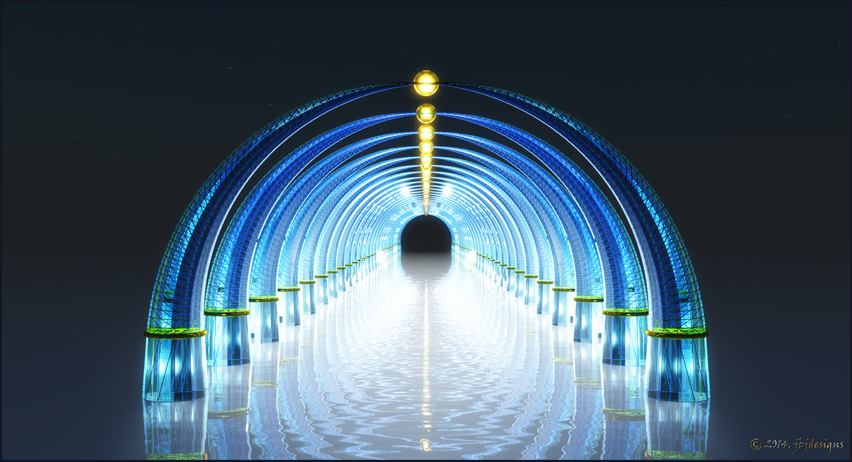 Light Corridor by jbjdesigns