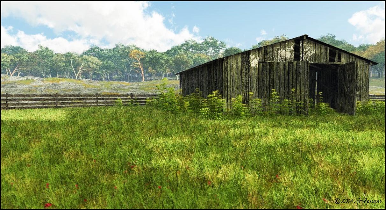 Old Barn by jbjdesigns