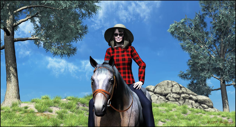 Riding Casanova by jbjdesigns