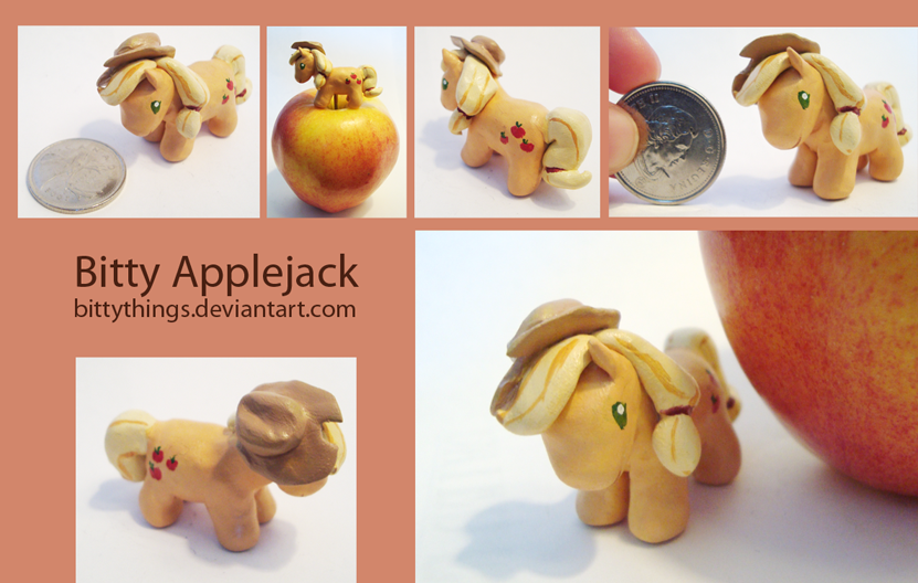 Bitty Apple Jack - SOLD by Bittythings