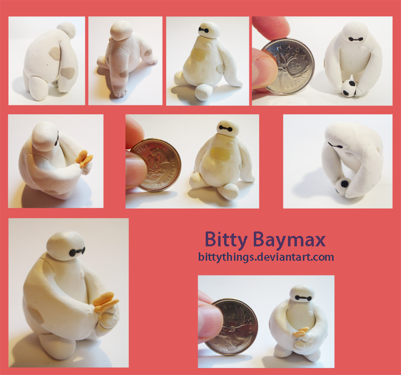 Bitty Baymax - 2 still available by Bittythings