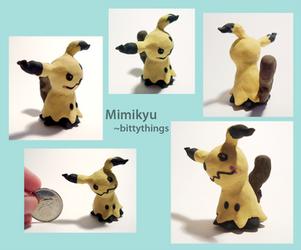 Mimikyu - Gift by Bittythings