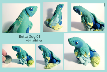 Betta Dog 01 - SOLD by Bittythings