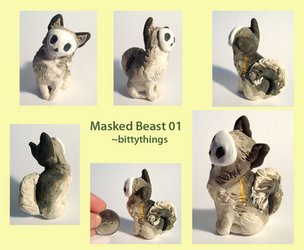 Masked Beast 01 - SOLD by Bittythings
