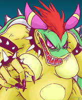 Giga Bowletta is scary boobies by ereptor