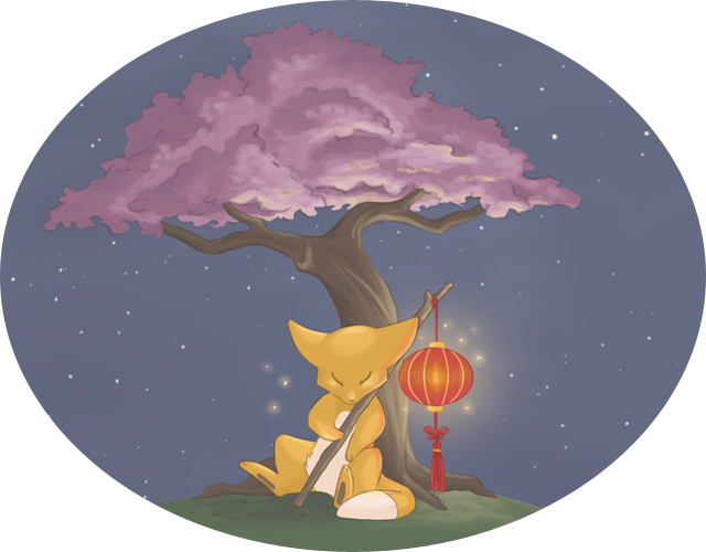 Lantern Fox by Kuronyo