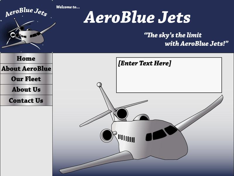 Web design assignment