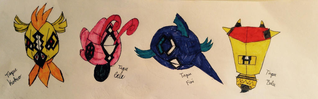 how to catch the tapu