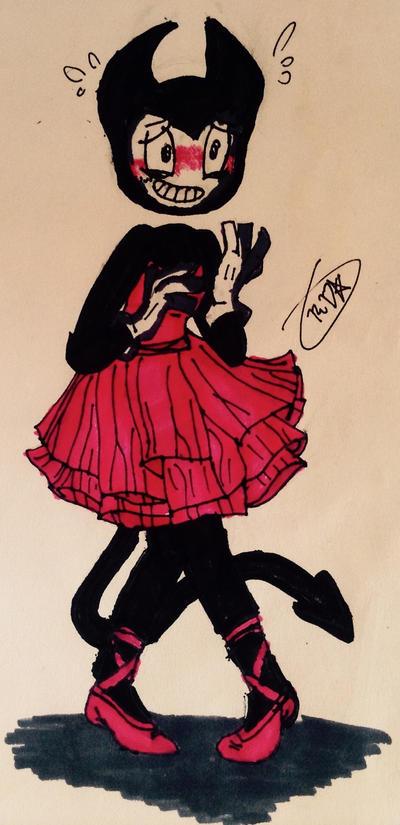 BATIM-The Dancing Demon by Velatina-young