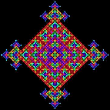 godseye mandala by BlueHalios