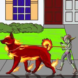 Mia Challenge Mythical Creature by GoldFishArmada