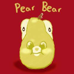 Pear Bear by GoldFishArmada