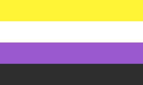 Nonbinary (1) by Pride-Flags