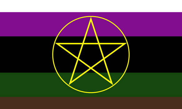 Witchgender / Magusgender / Magegender (1) by Pride-Flags