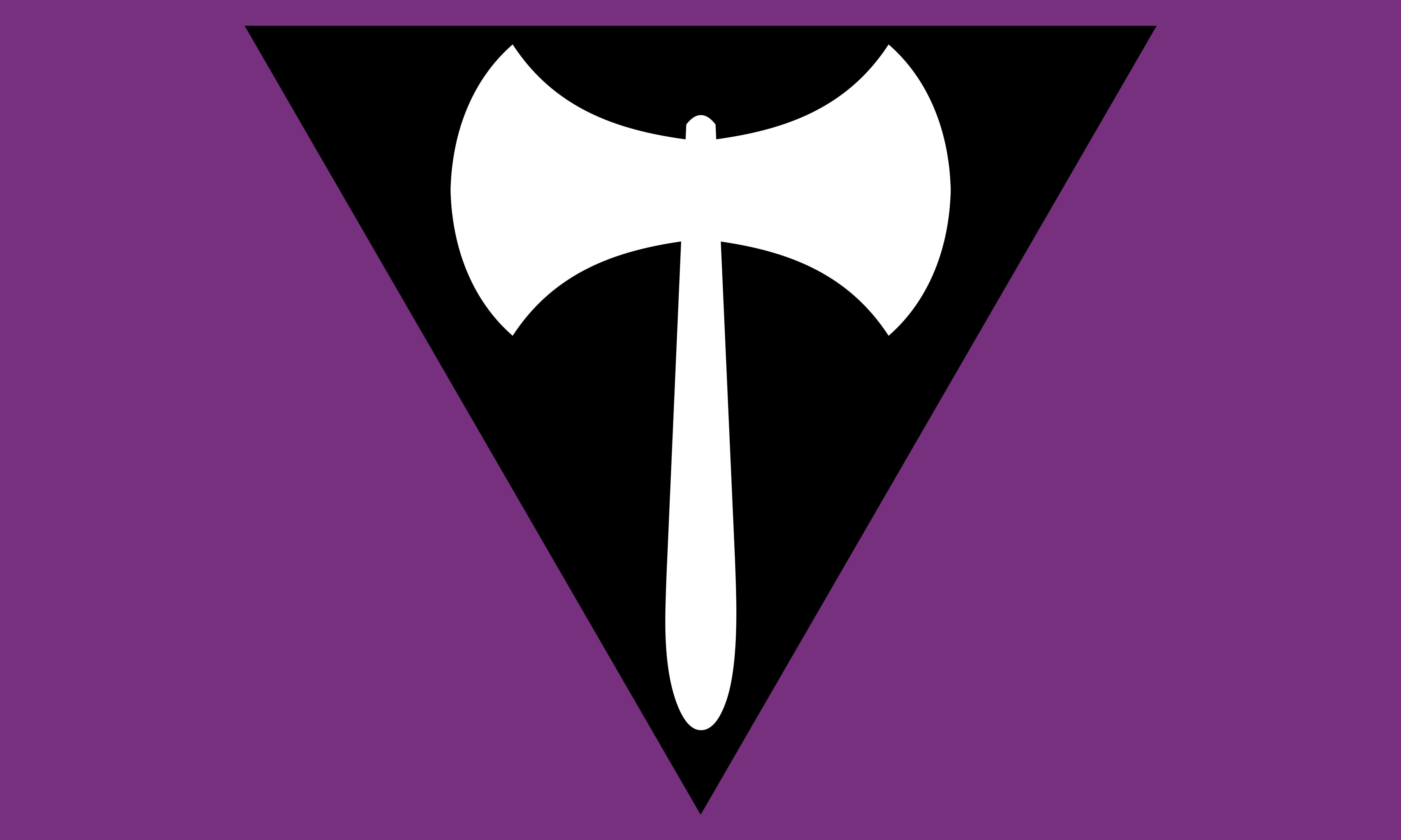 Lesbian Labrys by Pride-Flags