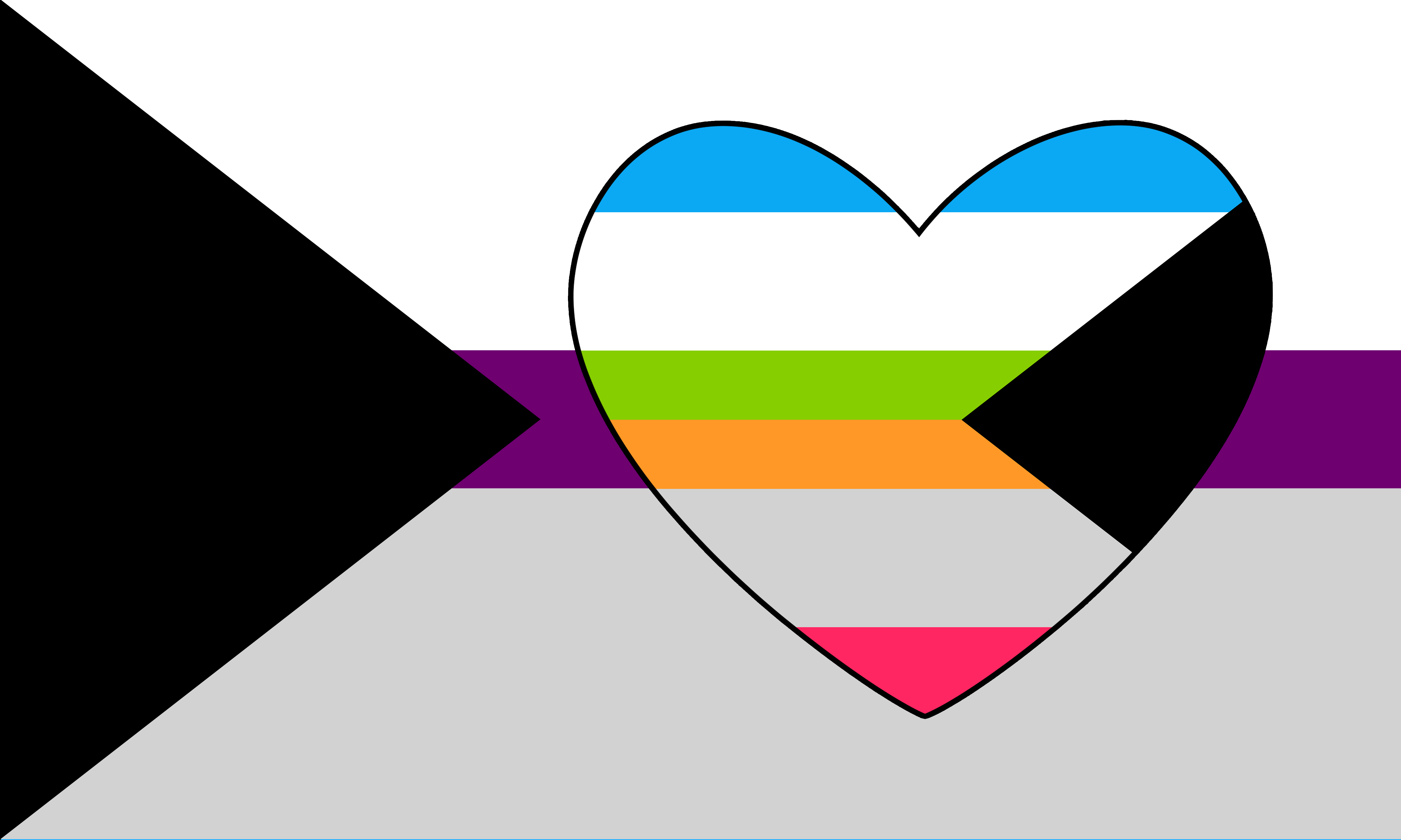 Demisexual Demipanromantic Combo by Pride-Flags on DeviantArt