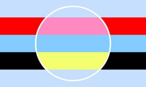Panalterous Polyamalterous Combo Flag
