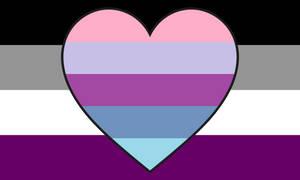Asexual Omniromantic Combo Flag
