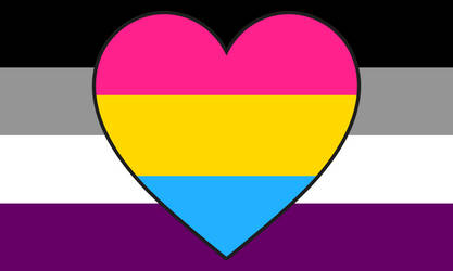 Asexual Panromantic Combo Flag