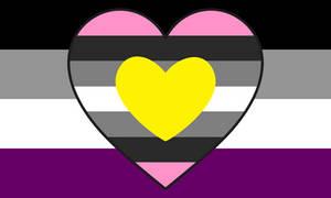 Asexual Queerplatonic Combo Flag