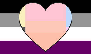 Asexual Specioromantic Combo Flag