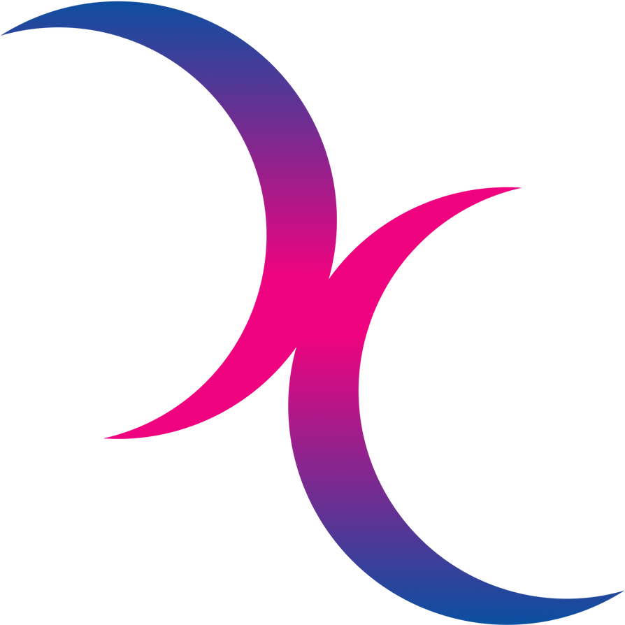 Image result for bisexual crescent moon