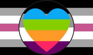 Librafeminine Asexual Panromantic Combo Flag