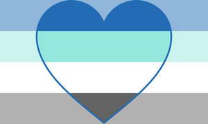 Frayromantic / Ignotaromantic Pride Flag